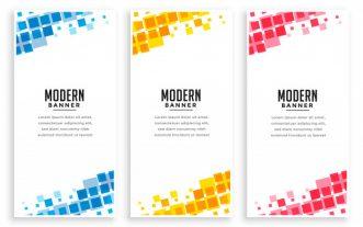 Design Modern BannerS